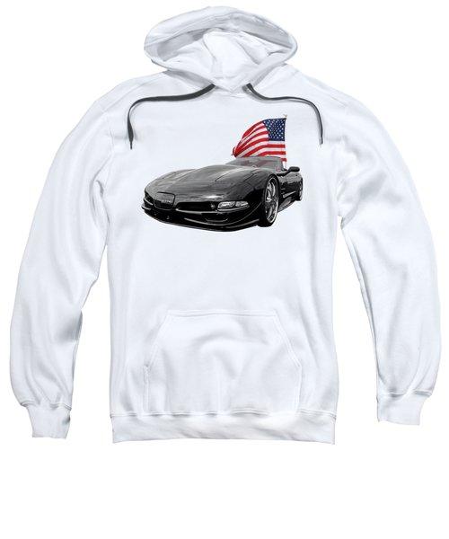Patriotic Corvette C5 Sweatshirt