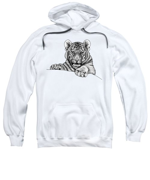 Peeking Tiger Cub Sweatshirt