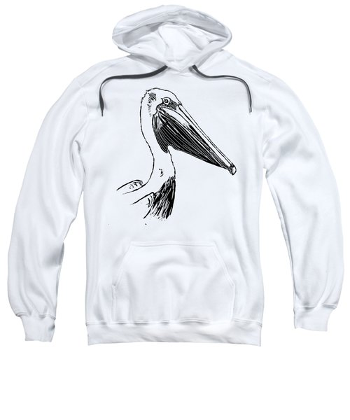 Pelican On Waves Sweatshirt