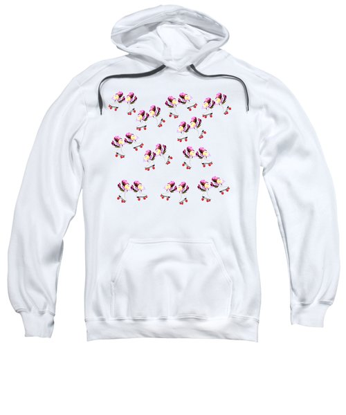 Peonies And Skate Sweatshirt