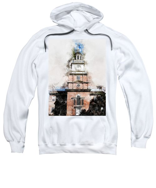 Philadelphia Independence Hall - 01 Sweatshirt