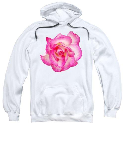 Pink Halo Rose Sweatshirt