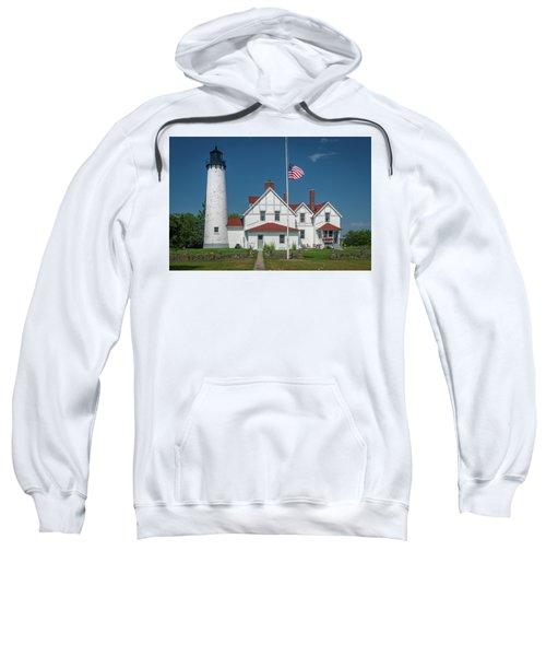 Point Iroquois Lighthouse Sweatshirt