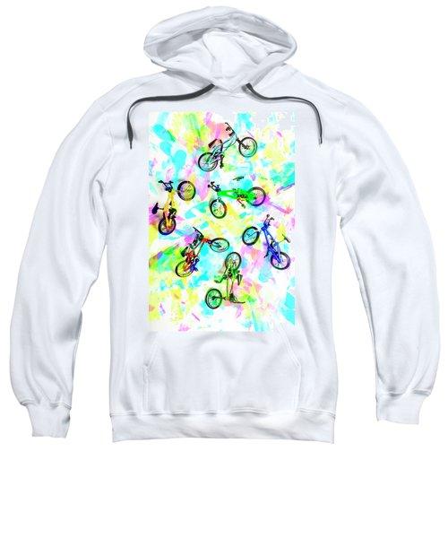 Pop Art Circuit Sweatshirt