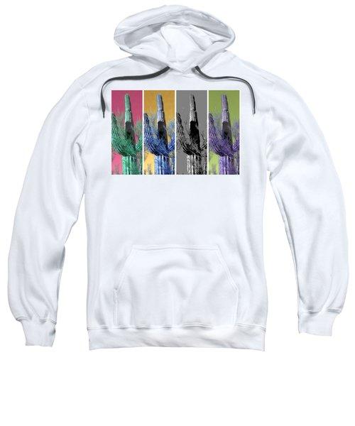 Pop Saguaro Cactus Sweatshirt