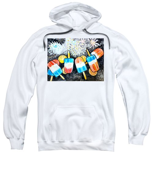 Popsicles And Fireworks Sweatshirt