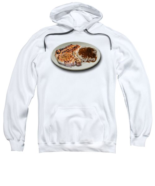 Pork Chop And Rice Sweatshirt