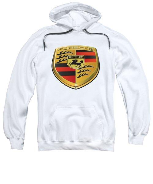 Porsche Logo No Background Sweatshirt