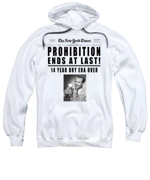 Prohibition Ends Toast - New York Times 1933 - T-shirt Sweatshirt