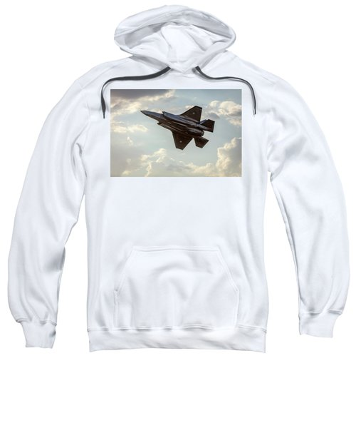 Sweatshirt featuring the photograph Raaf F-35a Lightning II Joint Strike Fighter by Chris Cousins