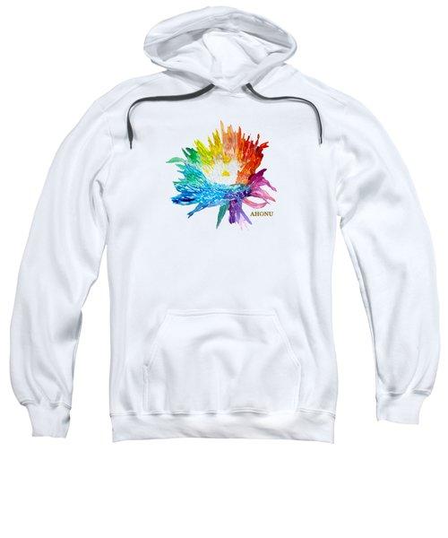 Rainbow Chrysanthemum Sweatshirt