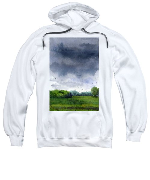 Rains Coming Sweatshirt