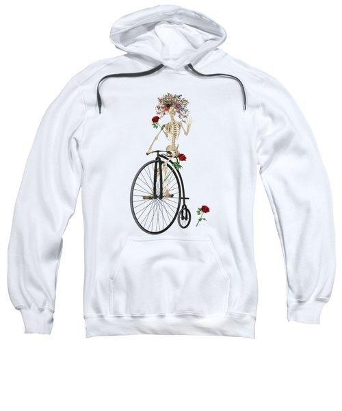 Rambling Rosy Penny Farthing Sweatshirt