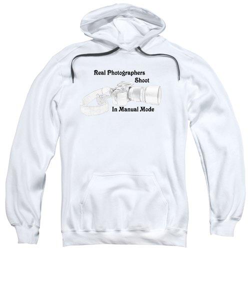 Real Photographers Sweatshirt