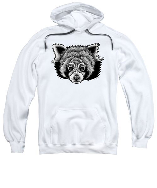 Red Panda - Ink Illustration Sweatshirt