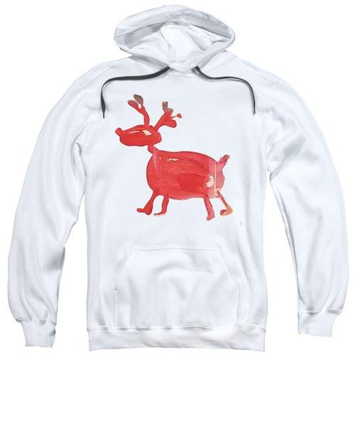 Red Reindeer Sweatshirt