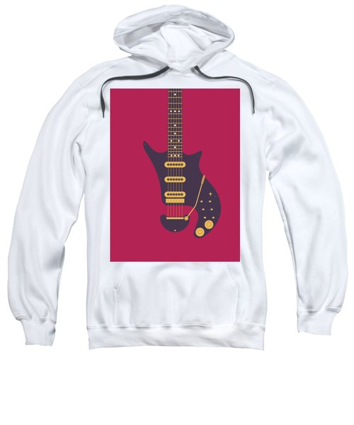 Red Special Guitar - Burgundy Sweatshirt