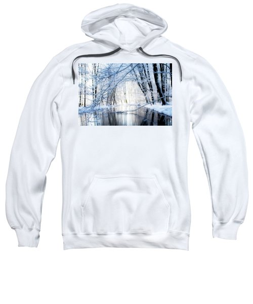 Reflecting Winter Creek Sweatshirt