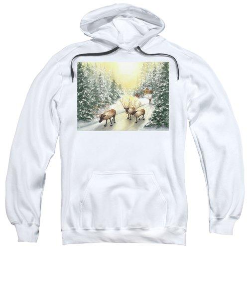 Hoofing It Under The Midnight Sun Sweatshirt