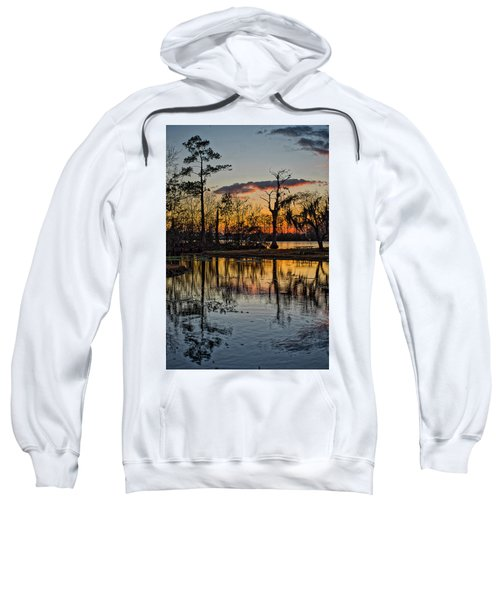 Riverside Sunset Sweatshirt