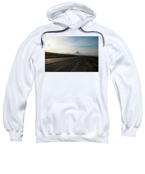 Road Through The Rockies Sweatshirt