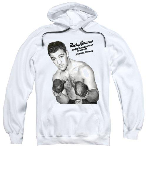 Rocky Marciano World Boxing Champion - T-shirt Sweatshirt
