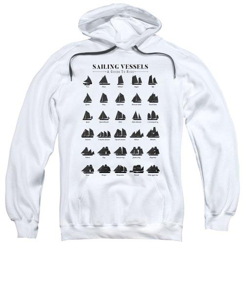 Sailing Vessel Types And Rigs Sweatshirt