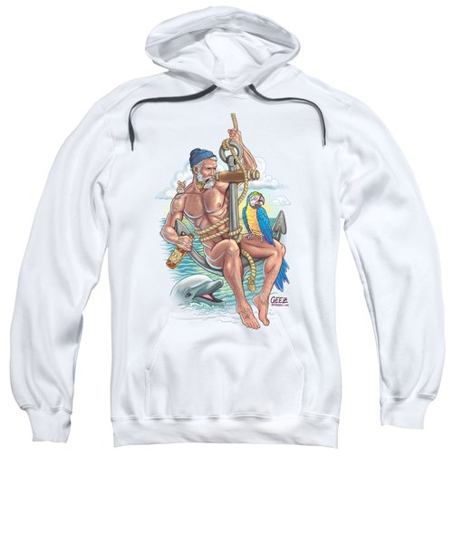 Sailor On Anchor Sweatshirt