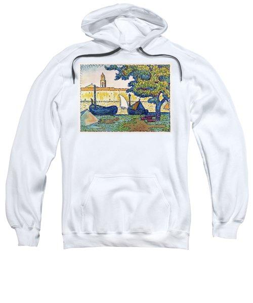 Saint-tropez, The Port Of St. Tropez - Digital Remastered Edition Sweatshirt