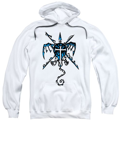 Shield Wing And Spears Sweatshirt