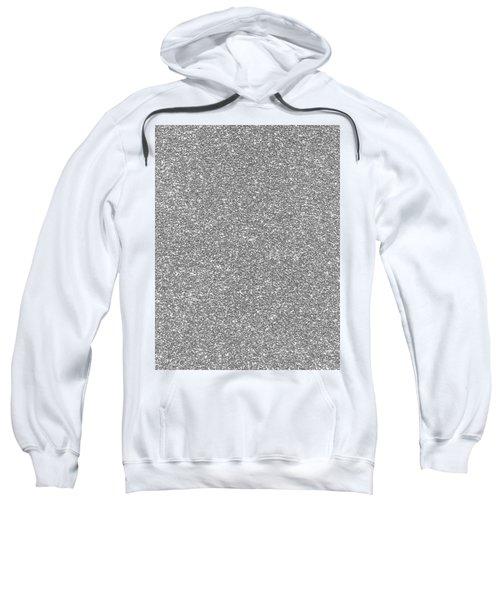 Silver Glitter  Sweatshirt
