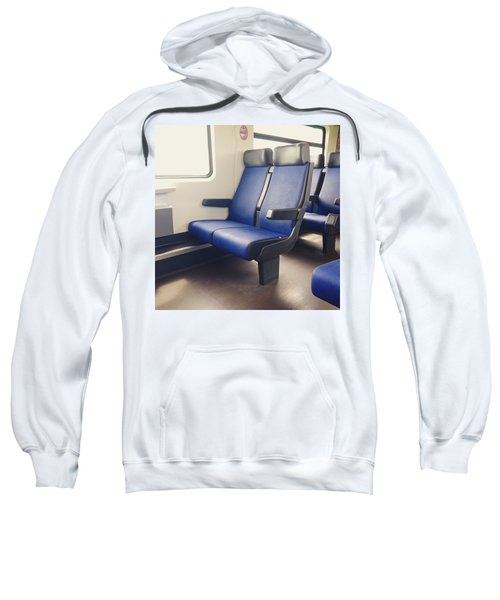 Sitting On Trains Sweatshirt