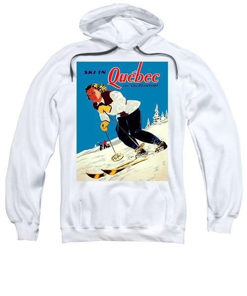 Ski In Quebec Sweatshirt