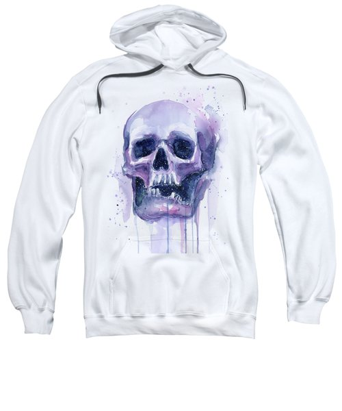 Skull In Space Sweatshirt