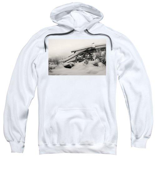 Snowy Rollback Through Time Sweatshirt