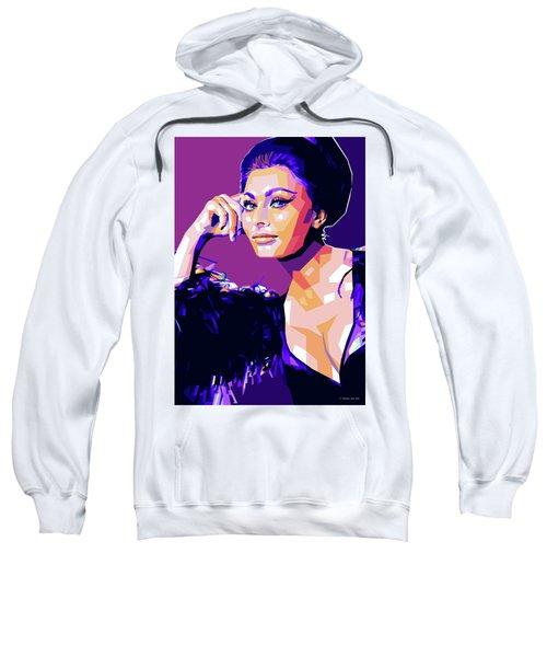 Sophia Loren Pop Art Sweatshirt