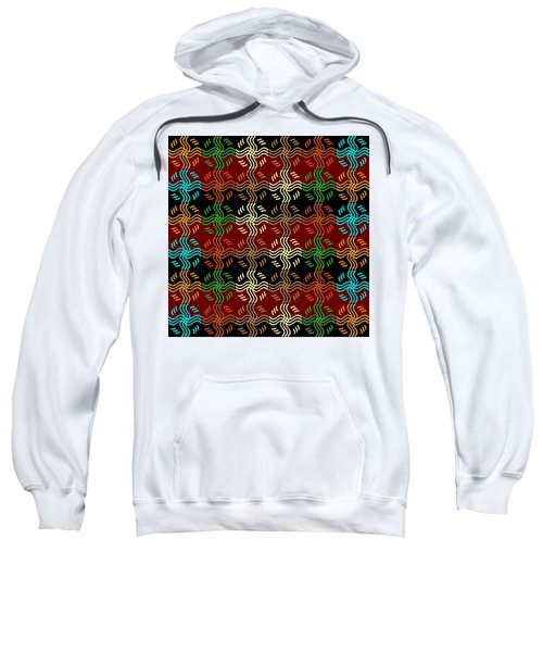 Southwestern Sun Tile Sweatshirt