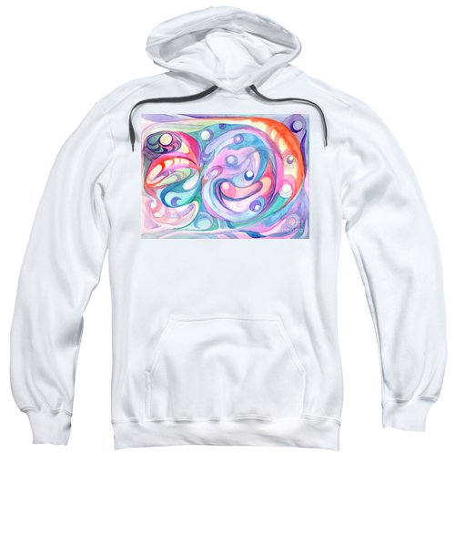 Space Abstract Sweatshirt