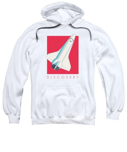 Space Shuttle Spacecraft - Crimson Sweatshirt