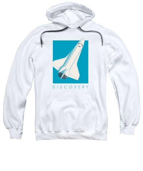 Space Shuttle Spacecraft - Cyan Sweatshirt