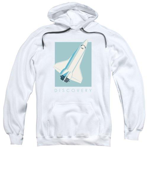 Space Shuttle Spacecraft - Sky Sweatshirt