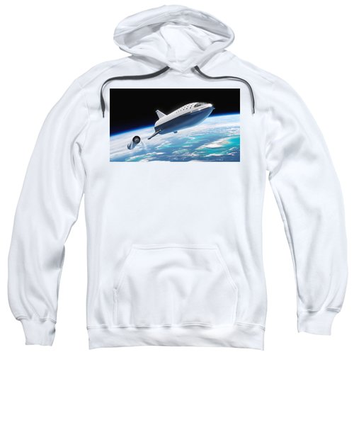 Spacex Bfr And Bfs  Sweatshirt