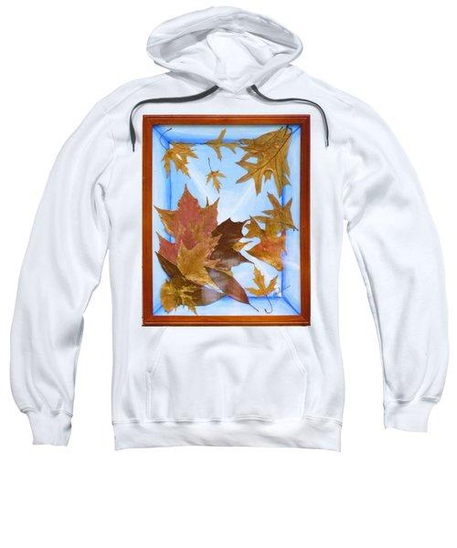 Splattered Leaves Sweatshirt