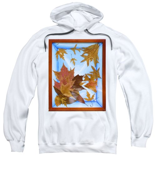Splattered Leaves Sweatshirt