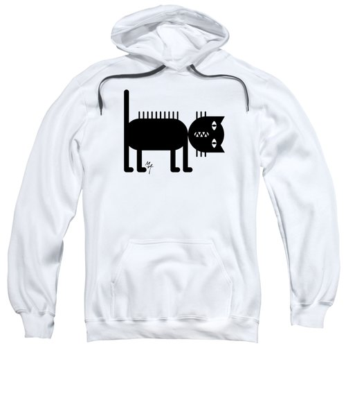 Standing Cat Sweatshirt