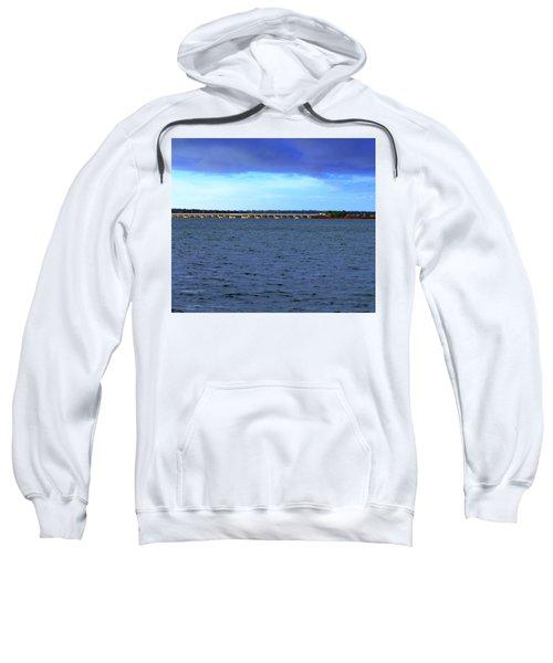 Stormy Mission River Bridge Sweatshirt