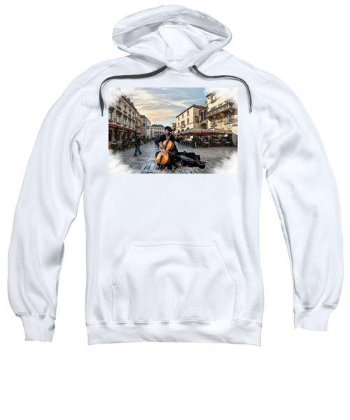 Street Music. Cello. Sweatshirt