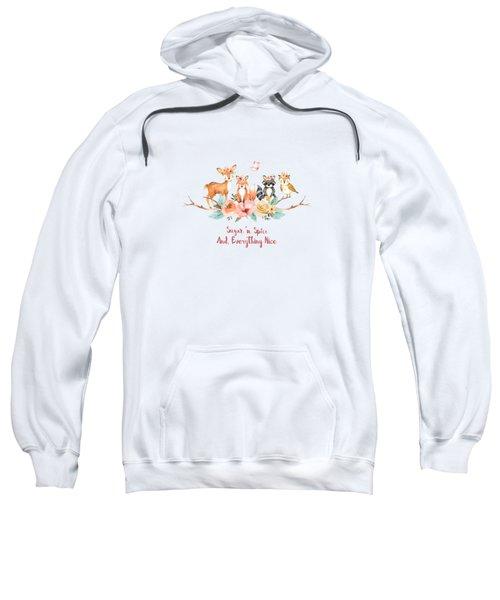 Sugar 'n Spice And Everything Nice Sweatshirt
