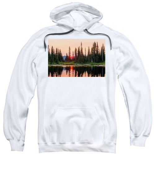 Sunrise From The Reflection Lake Sweatshirt