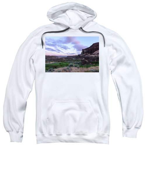 Sunrise In The Ancient Lakes Sweatshirt